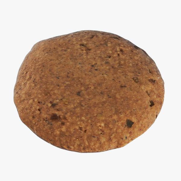 hand brown gingerbread elisen model