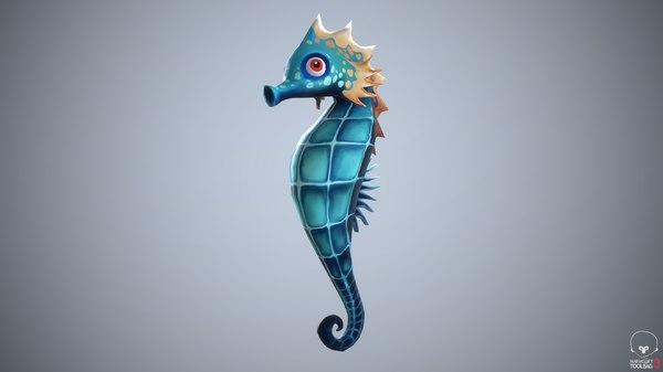 seahorse sea model