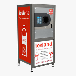 3D reverse vending machine