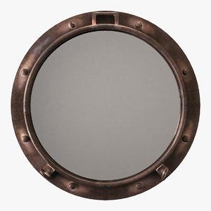 mirror decor 3D