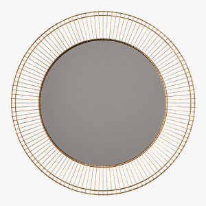 mirror decor 3D model