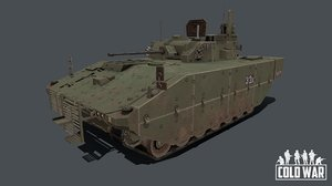 vehicle british army 3D