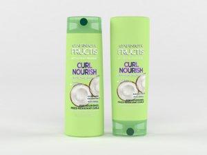 3D garnier hair care fructis model