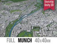 3D model city munich -