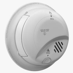 smoke detector generic 3D model