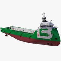 Ulstein PX105 Bourbon Front Platform Supply Vessel