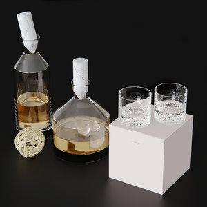 nudeglass decorative 3D model
