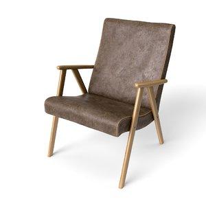 classic armchair kajo vintage 3D model