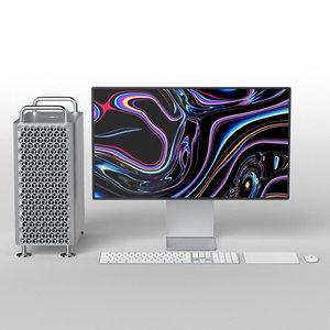 mac pro 2019 set model