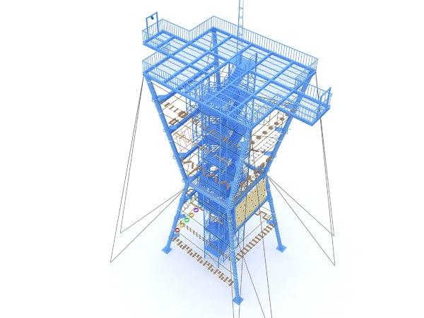 challenge tower model