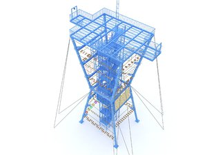 challenge tower model