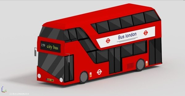 london bus model