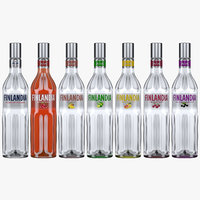 Finlandia Vodka All Flavours Bottle Collection