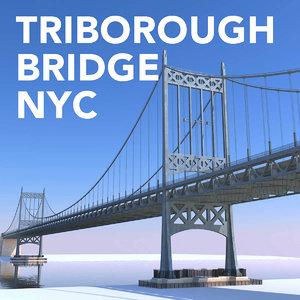 triborough bridge 3D