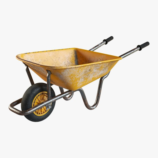 wheel barrow 3D model