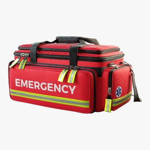emergency bag 3D model
