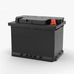battery car 3D model