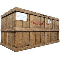 wood cargo box 3 3D
