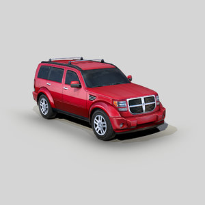 3D dodge nitro rt suv