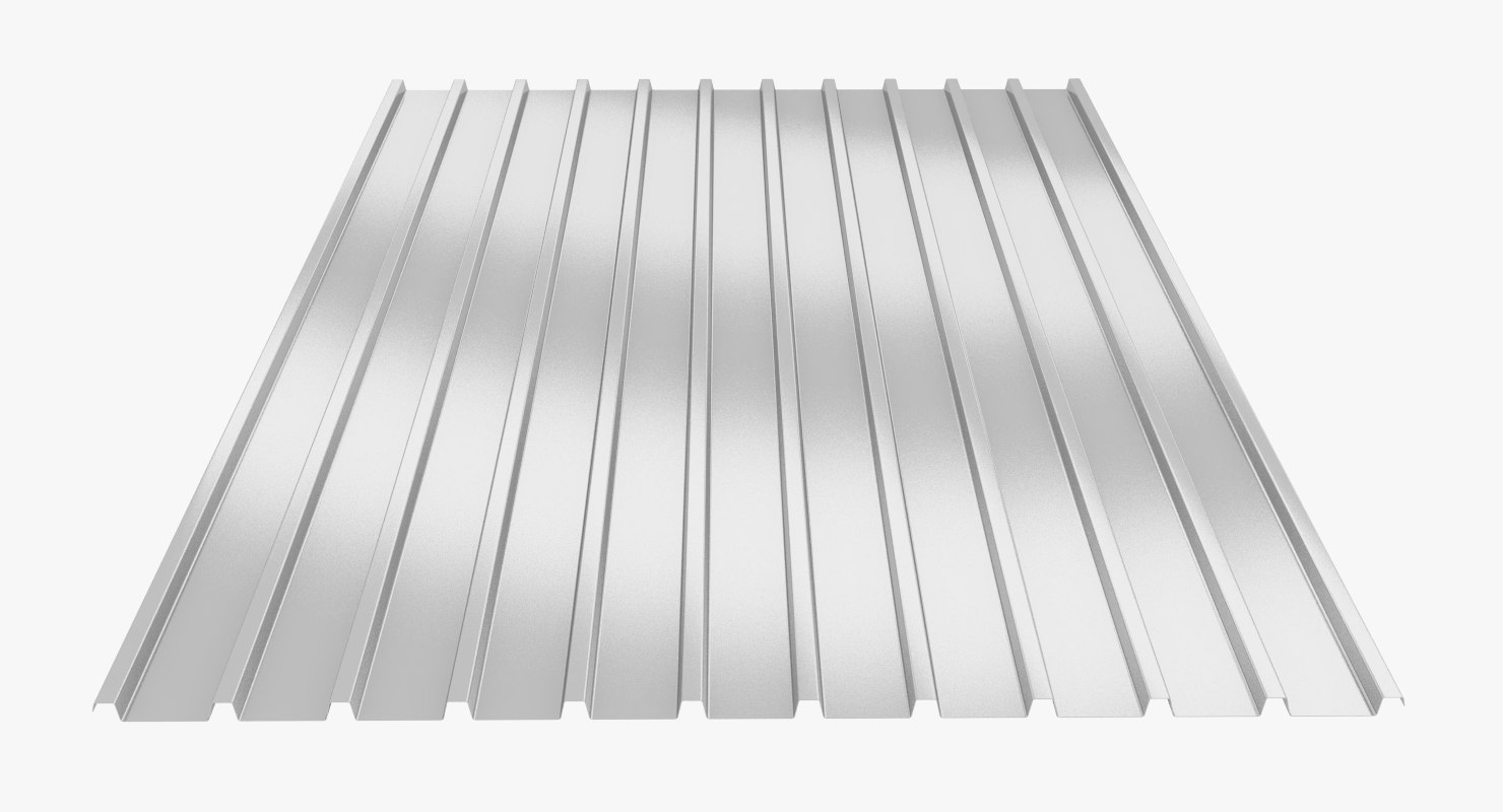 profiled sheet c18 3D model