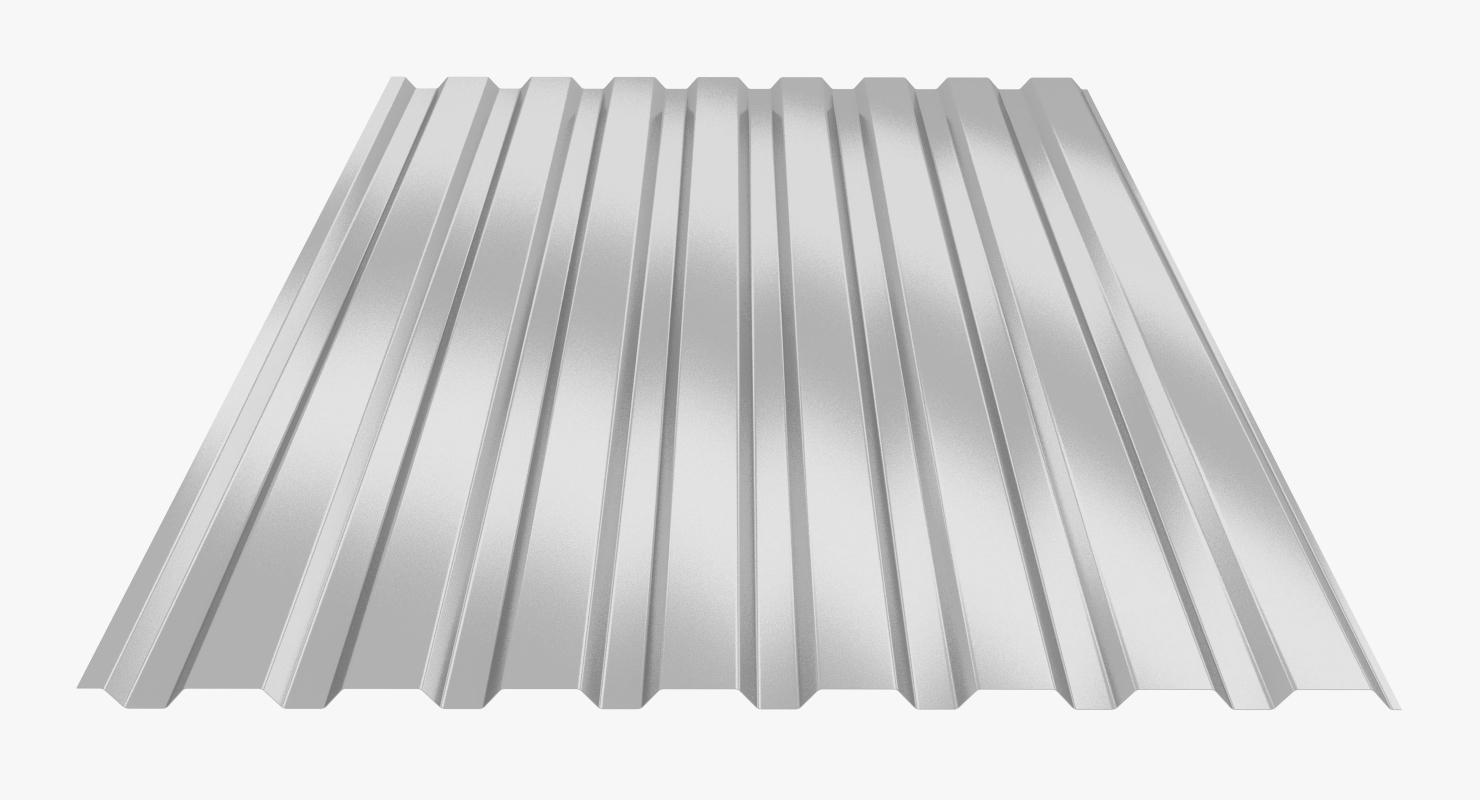 profiled sheet 3D