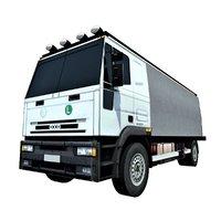 3D truck road
