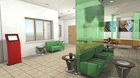 vr department bank - 3D model