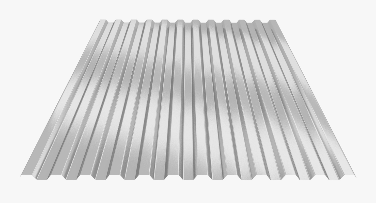 3D profiled sheet model