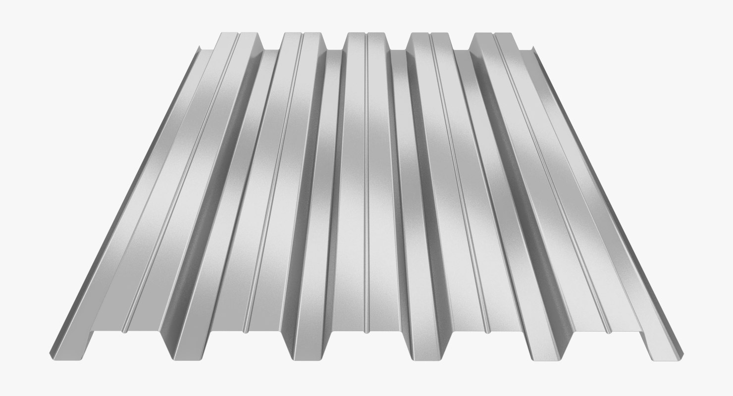 profiled sheet h60 3D model