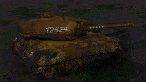3D tank t26e4