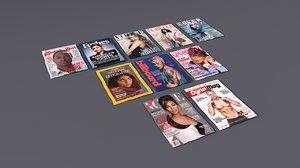 magazines modeled model