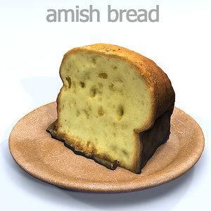 amish 3D model