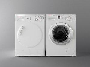 3D washing machine bosch 2 model