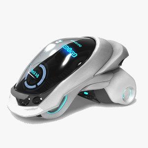 3D concept vehicle