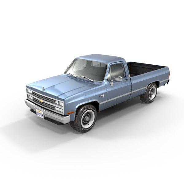 3D c10 model