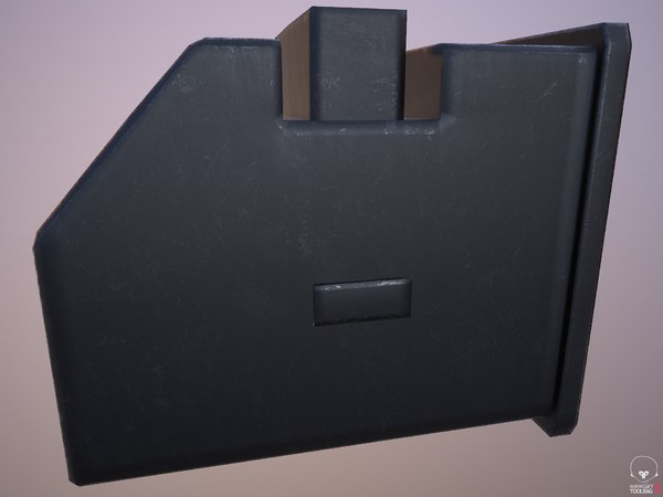 3D rifle box magazine weapon