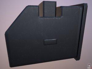 3D rifle box magazine weapon