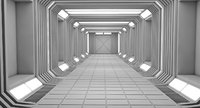 3D model interior space