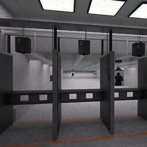 shooting range model