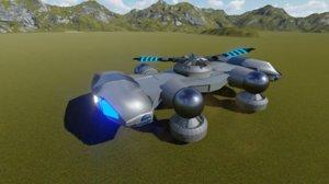 hover tank 3D model