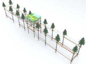 3D adventure park