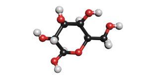 glucose molecule c6h12o6 3D