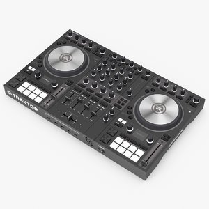 3D native instruments traktor s4