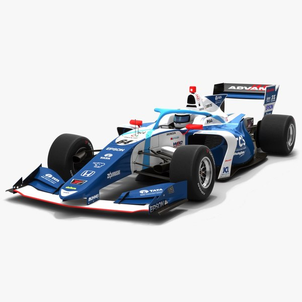 3D tcs nakajima racing 64 model