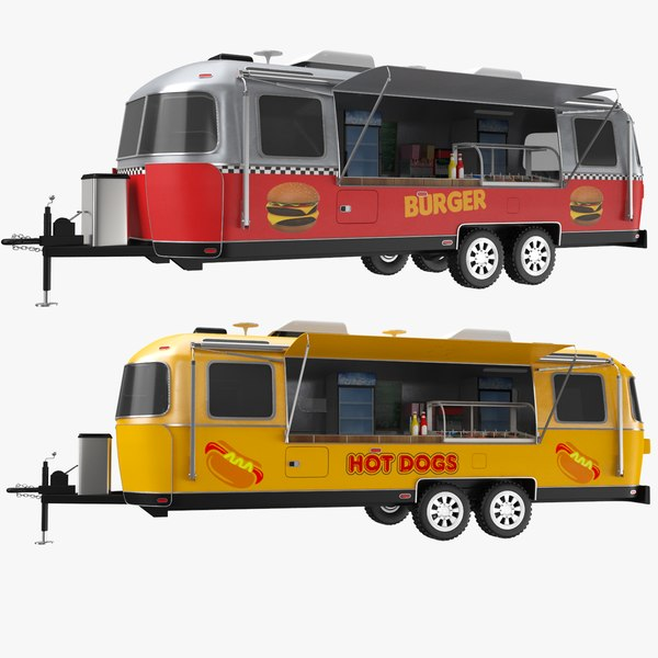food airstream 3D model