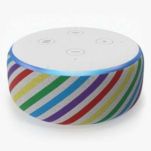 3D amazon echo dot 3rd