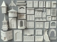 Building Facade Collection-3 - 40 pieces