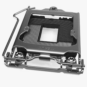 computer processor cover plate model