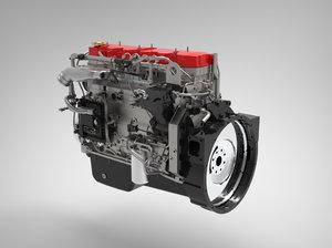 3D model engine animations
