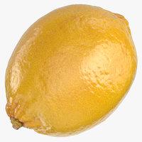 3D lemon 03 model
